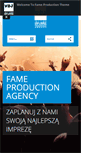 Mobile Preview of fameproduction.eu