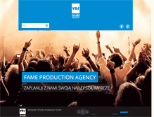 Tablet Preview of fameproduction.eu